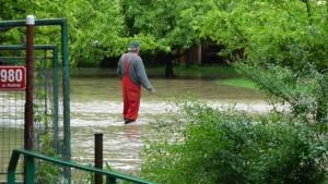 povodeň Úvaly
