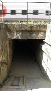 podchod u závor