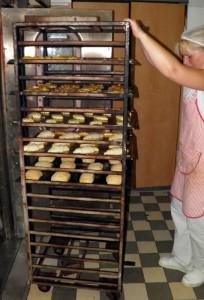 pekařství na náměstí