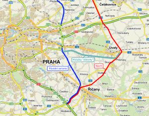 plán přeložka dálnice