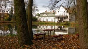 lavičky, mlýnský rybník