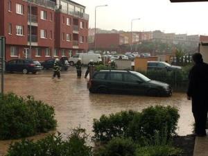 záplava Nové Slovany