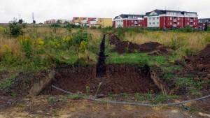 záplava Hostín - příkop