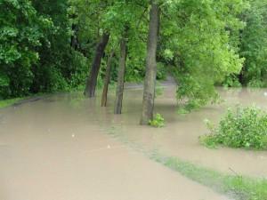 Povodeň Úvaly 2013