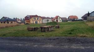 pozemek města Úvaly