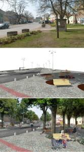 projetkt náměstí Úvaly