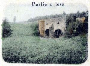 kamenný mostek