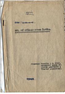 Jaroslav Bedrna 1945 titulní