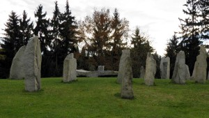 menhiry Průhonice
