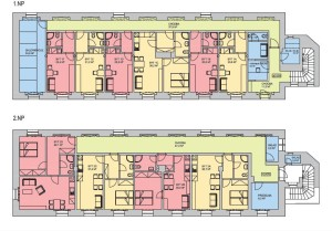 plán - byty Škvorecká 105