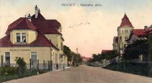 nádraží Úvaly