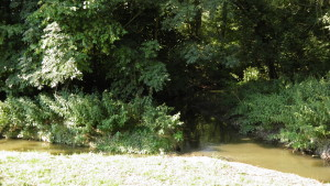 Výmola, soutok Škvorecký potok