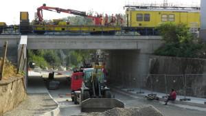 želzeniční most Na Spojce