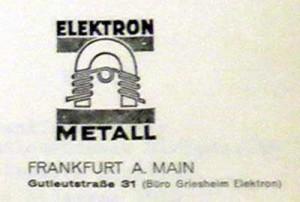 Elektronspol