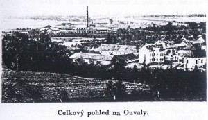 Celkový pohled na Ouvaly