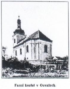 Kostel v Ouvalech