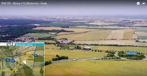 Vizualizace dálnice Běchovice - Úvaly